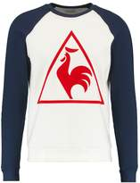 Le Coq Sportif Tri Tennis Crew Long Sleeved Top Marshmallow/dress Blues/pur Rouge