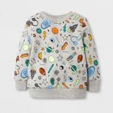 Cat & Jack Toddler Boys' Sweatshirts Cat & Jack - Heather Gray