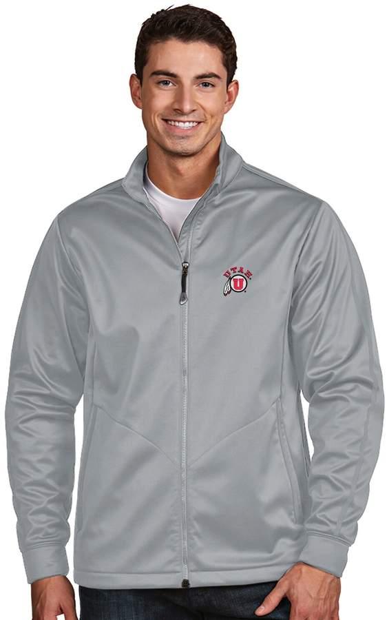 Antigua Men's Utah Utes Waterproof Golf Jacket