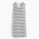 J.Crew Striped tweed sheath dress