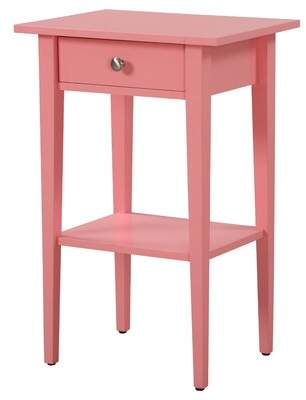 Andover Mills Blade 1 Drawer Nightstand Color: Pink