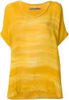 Raquel Allegra oversized tie dye top