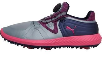 Puma Womens Ignite Blaze Sport Disc Golf Shoes Quarry/Knock Out Pink