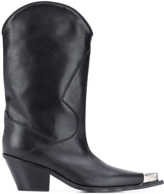 Misbhv Metallic Toe Cowboy Boots