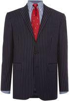 Polo Ralph Lauren Slim Polo 1 Navy Stripe Suit