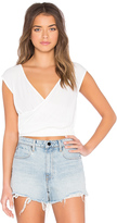 MinkPink Endless Road Wrap Top