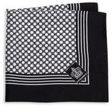 Dolce & Gabbana Patterned Silk Pocket Square