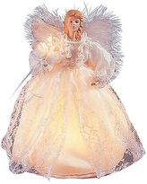 Kurt Adler White Angel Pre-Lit Tree Topper