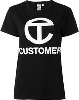 Telfar 'customer' print T-shirt