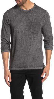 Lucky Brand VBO Chest Pocket Long Sleeve T-Shirt
