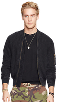 Denim & Supply Ralph Lauren Cotton Bomber Jacket, Polo Black