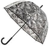Hunter Wave-Print Bubble Umbrella