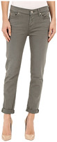 7 For All Mankind Josefina with Rolled Hem in Fatigue