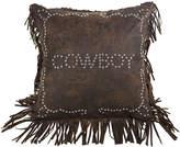 HIEND ACCENTS HiEnd Accents Calhoun Cowboy Square Decorative Pillow