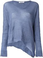 Lamberto Losani V-neck knitted blouse - women - Cashmere/Silk/other fibers - M