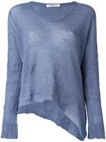 Lamberto Losani V-neck knitted blouse