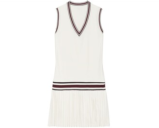 Tory Burch Performance V-Neck Tennis Dress
