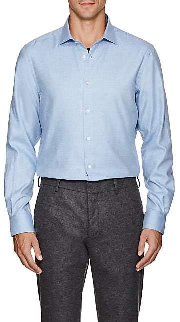 Boglioli Men's Cotton Dress Shirt - Lt. Blue