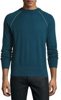 Theory Tremell Castellos Merino Sweater, Blue