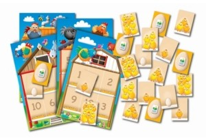The Learning Journey Play It Game- Pick Your Chickens