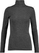 Splendid Pima cotton and modal-blend turtleneck sweater