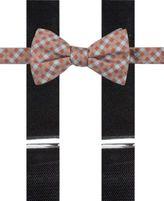 Alfani Orange Bow Tie & Suspender Set, Created for Macy's