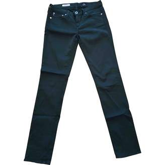 AG Adriano Goldschmied Green Cotton Jeans for Women