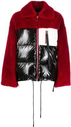 Sylvie Schimmel colour-block zipped jacket