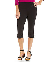 Westbound Petites the PARK AVE fit Ruched Skimmer Legging