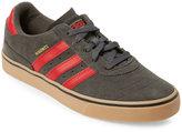 adidas Grey & Red Busenitz Vulc ADV Skate Sneakers