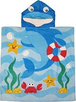 Dolphin Hooded Poncho Bath & Beach Towel