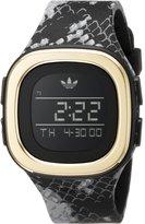adidas Men's 42x42mm Multicolor Silicone Band Steel Case Quartz Watch Adh3045