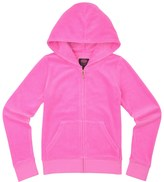 Juicy Couture Girls Logo Velour Royal Scotties Robertson Jacket