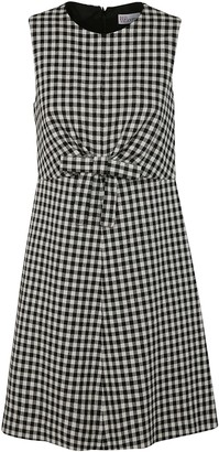RED Valentino Sleeveless Checked Dress