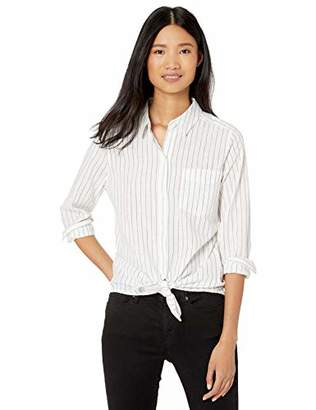 Goodthreads Washed Cotton Boyfriend Tunic Shirt,Medium