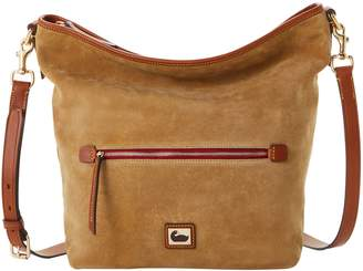 Dooney & Bourke Camden Suede Hobo Crossbody