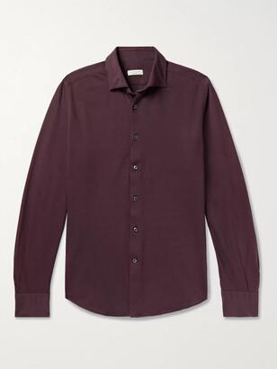 Incotex Cotton-Pique Shirt