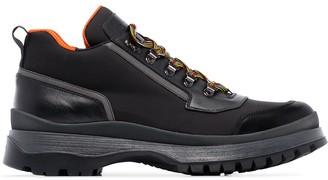 Prada Brixen mid-height hiking boots