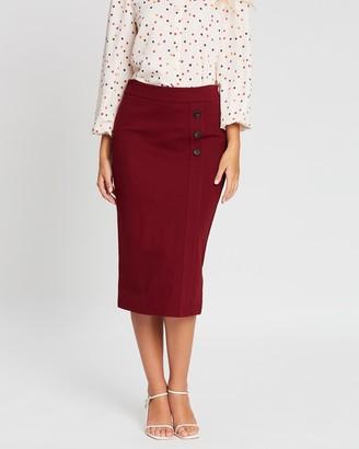 Review Romy Ponte Skirt