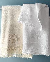 Matouk Callista Lace Bath Towel