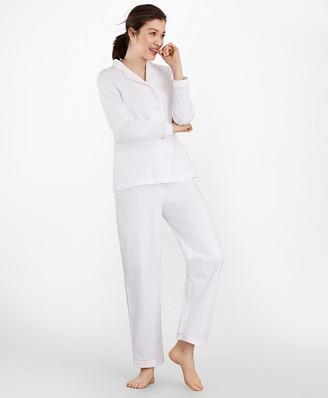 Brooks Brothers Cotton Poplin Pajama Set