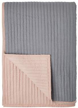 John Lewis & Partners Scandi Reversible Quilted Bedspread, Plaster