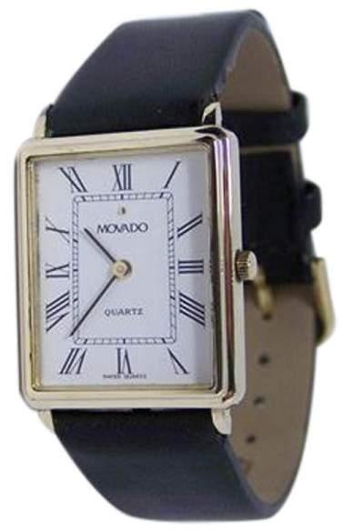 Movado 79972 14K Yellow Gold Quartz 24mm Mens Watch