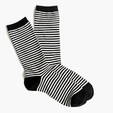 J.Crew Trouser socks in classic stripe