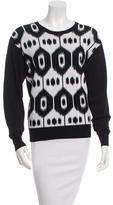 Altuzarra Patterned Scoop Neck Sweater