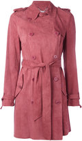Desa Collection double-breasted belted coat