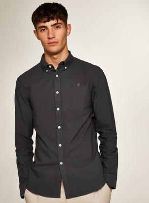 Topman FARAH Brewer Slim Long Sleeve Shirt*