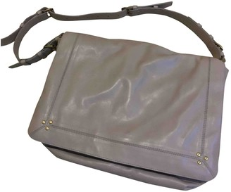 Jerome Dreyfuss Albert Beige Leather Handbags