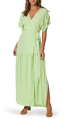 MinkPink Summer Lovin' Maxi Wrap Dress