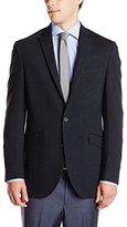 Kenneth Cole Reaction Men's Navy Neat 2 Button Sport Coat